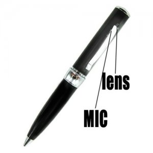 2GB Ergonomic Design Digital Video Camcorder Spy Pen